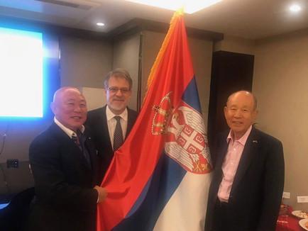 駐日セルビア大使館表敬訪問
