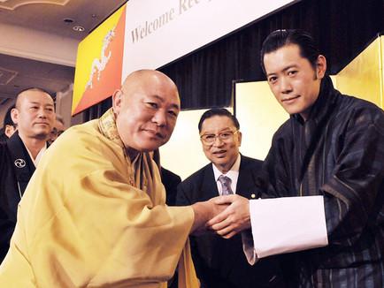 ブータン・ワンチュク国王陛下