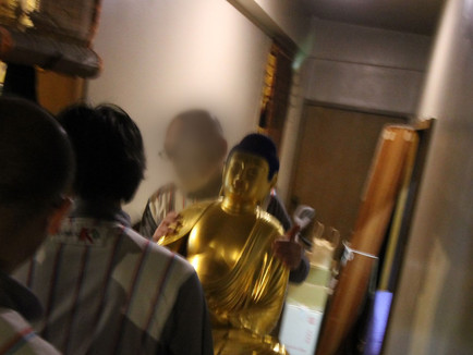 阿弥陀三尊像様が横浜市歴史博物館へ