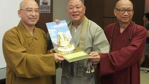 世界連盟台湾仏教徒協会との交流親善