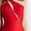Thumbnail: Силуэтное платье Jadore (красное)