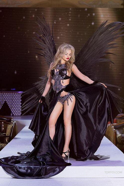 Костюм Victoria Secret (черный)