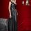 Thumbnail: Кожаное черное платье