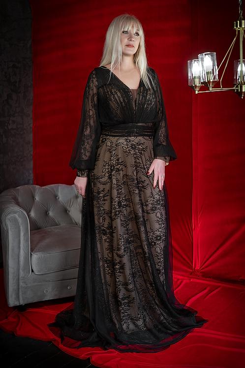 Черное с рукавами For Costumes