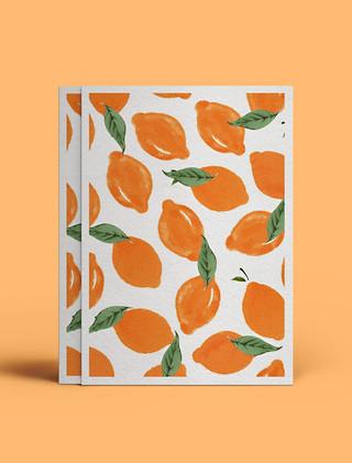 laranjas e outras cores mais