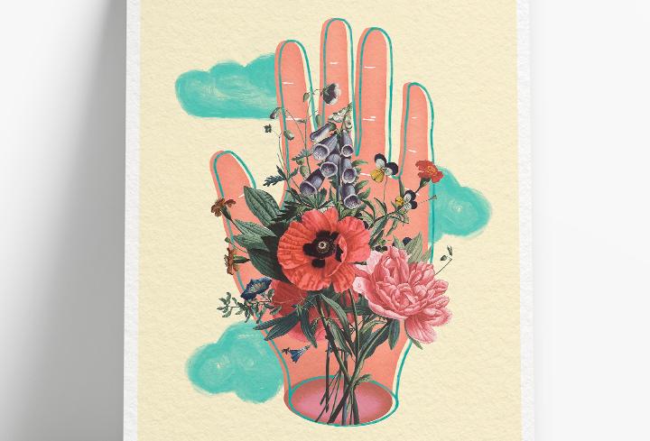 Print Mão