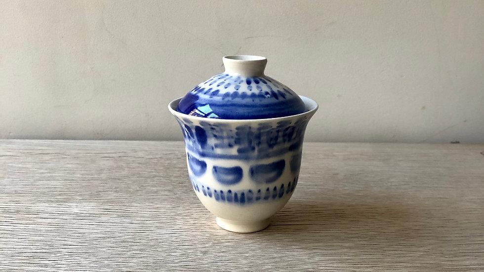 Gaiwan Blue 150ml | Erin Clancy Ceramic