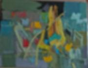 High jump#3 oil on canvas, 24x18?, cstee