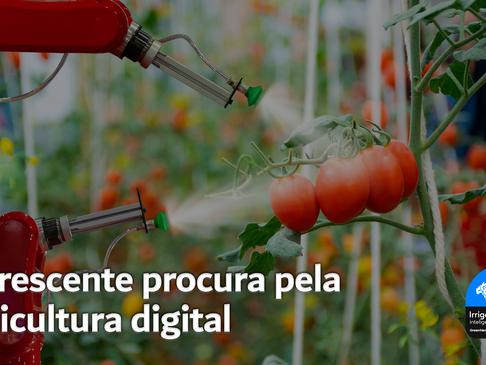 A crescente procura pela agricultura digital
