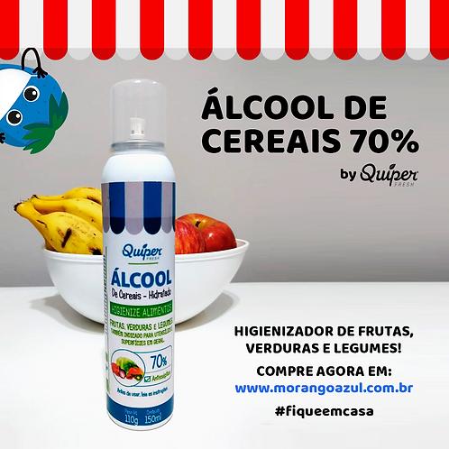 Álcool de Cereais 70% para alimentos