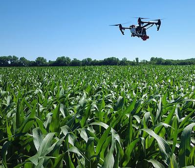 A utilização de drones na agricultura