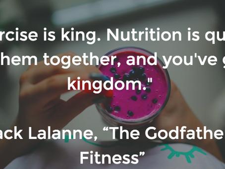 4 Pillars: Nutrition