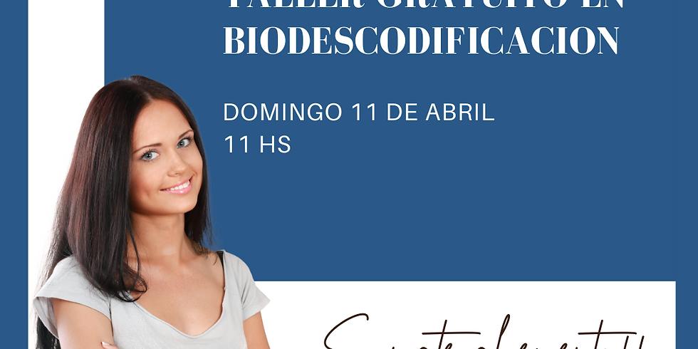TALLER GRATUITO BIODESCODIFICACION