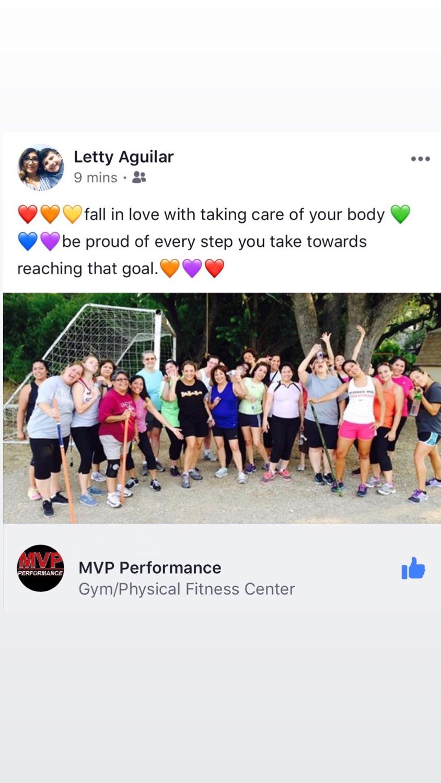MVP Adult Fitness Testimonials