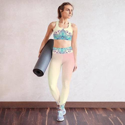 Gaia High Waist Womens Yoga Leggings