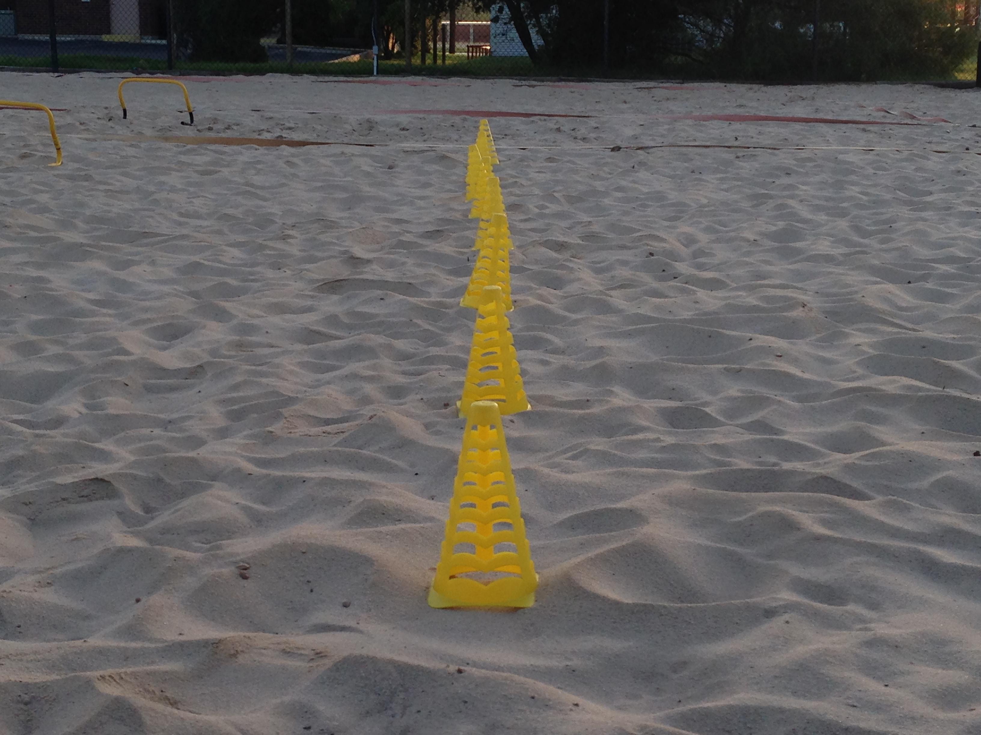 MVP Sand Training