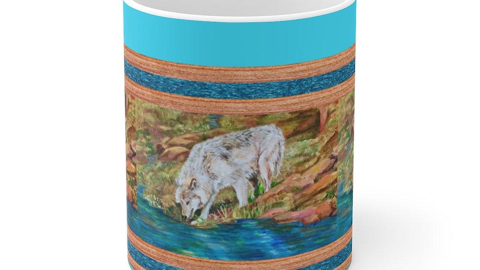 White Wolf  Mug 11oz