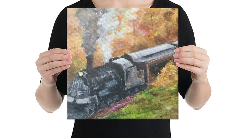 Colorado Train Canvas