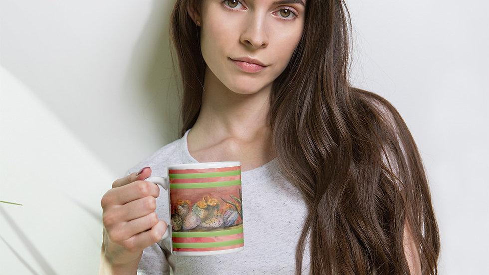 Cactus in a Row Mug