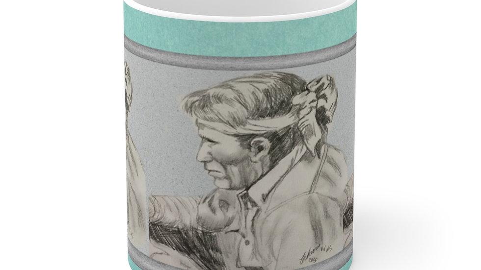 Navajo Silversmith Mug 11oz