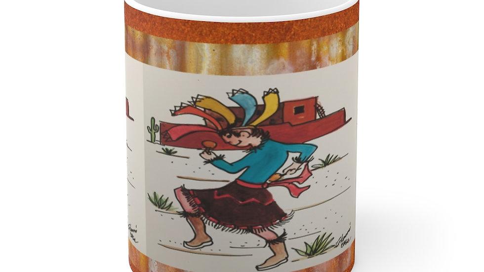 Pueblo Dancer  Mug 11oz
