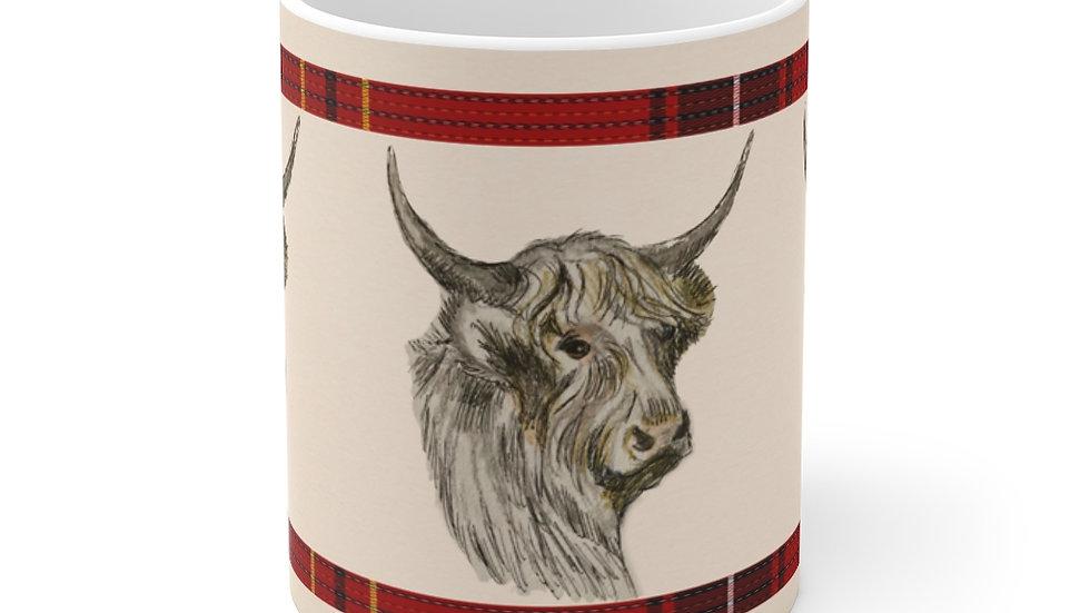 Highland Cow Mug 11oz