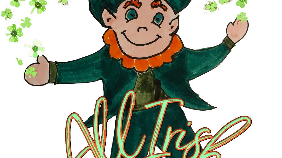 All Irish Bubble-free stickers