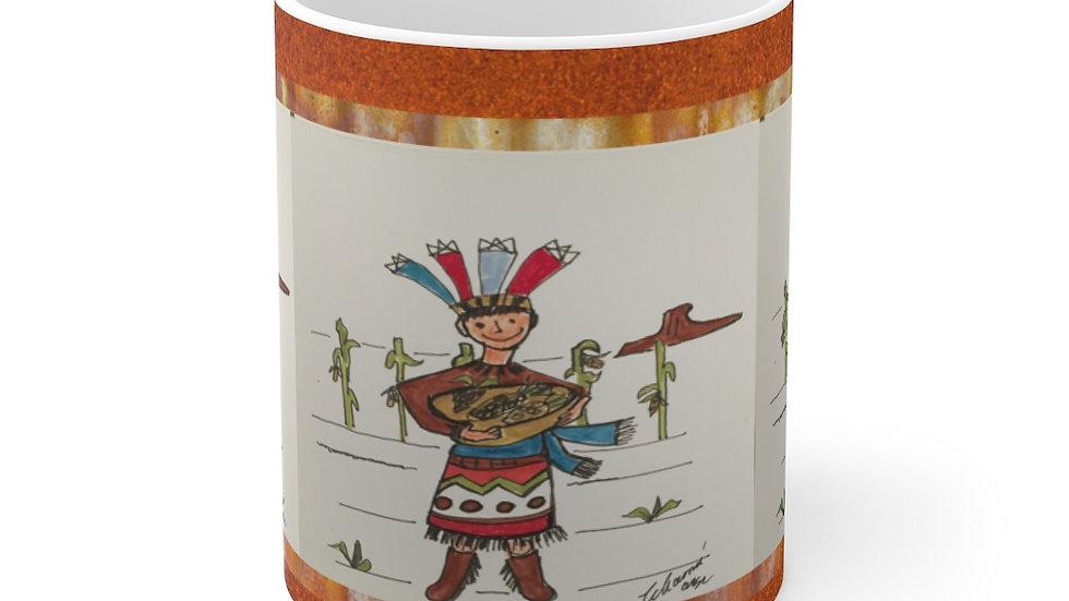 Pueblo Drummer II Mug 11oz