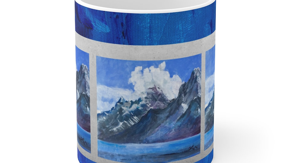 Grand Tetons and Lake Mug 11oz