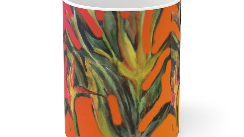 Tropical Fire  Mug 11oz