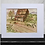 "Thumbnail: Roadside Shack5""x7"" White Matted Print"