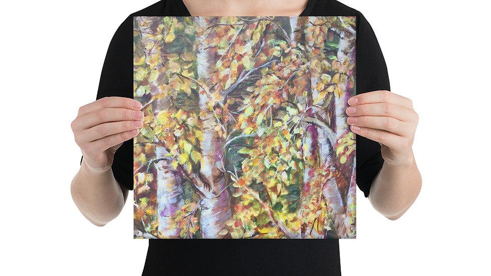 Dancing Leaves Canvas