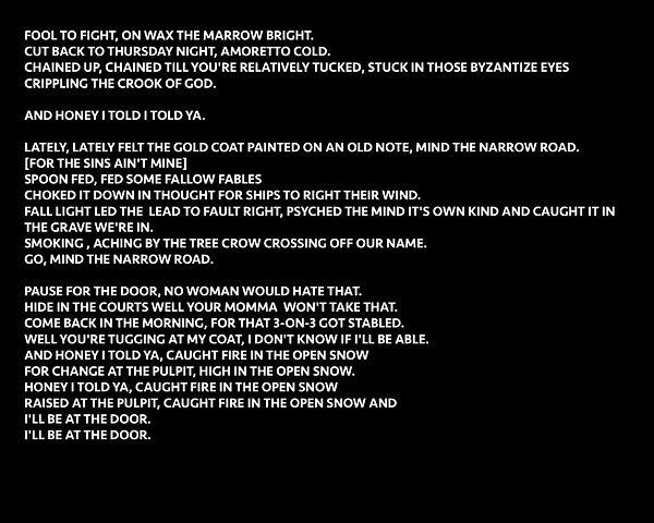 St. Clare [lyrics].jpg