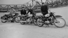 父さんとバイク