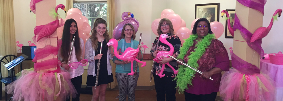 Flutes and Flamingos