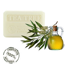 French Soaps Natural Tea Tree Front View