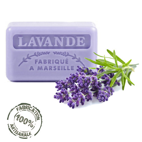 Frenchsoaps Lavender Soap Front View