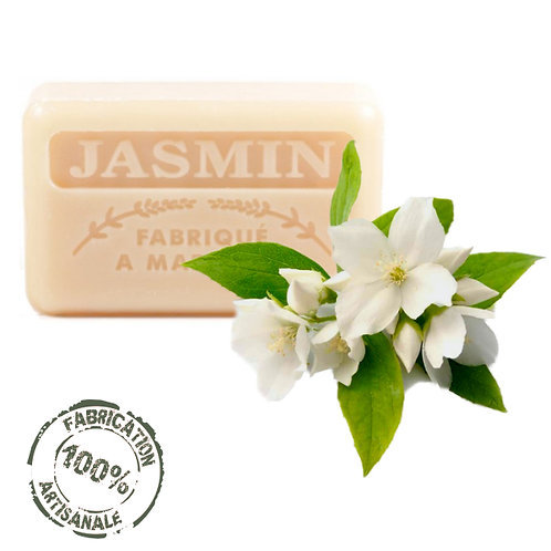 Frenchsoaps Jasmine Soap Front View