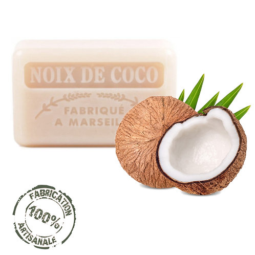 Frenchsoaps Coconut Front View
