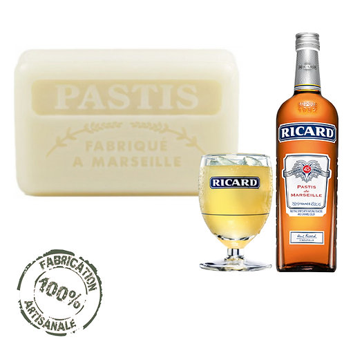 Frenchsoaps Pastis Soap Front View