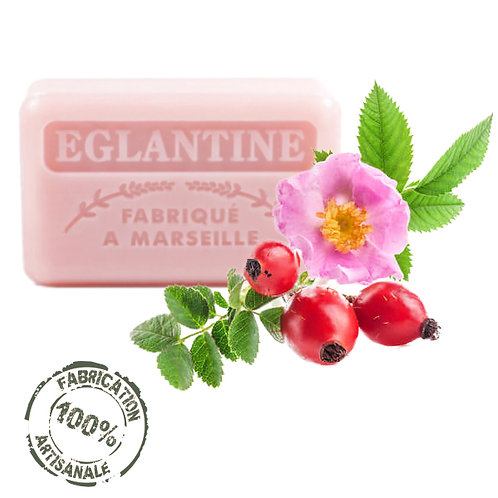 Frenchsoaps Wild Rose Soap Front View