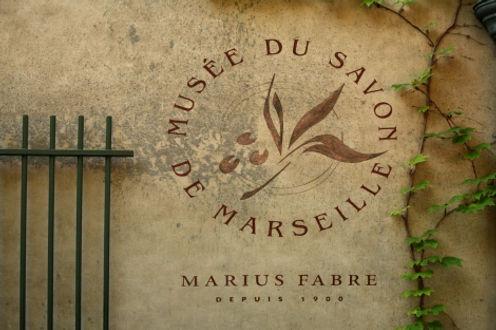 Savon de Marseille Museum Sign