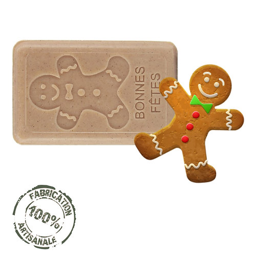 French Soap Gingerbread Man Front View