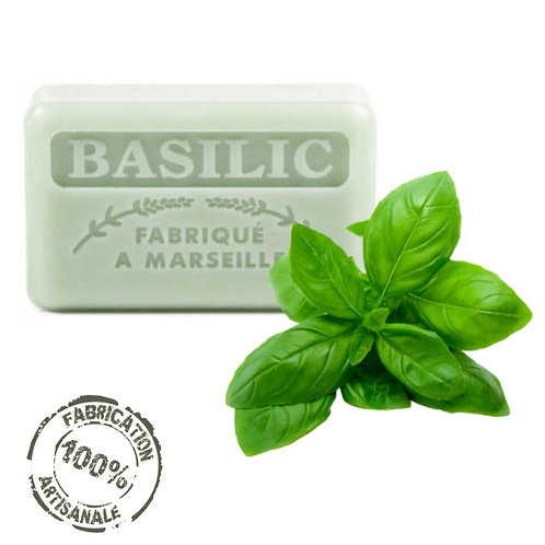 Frenchsoaps Basil Front View