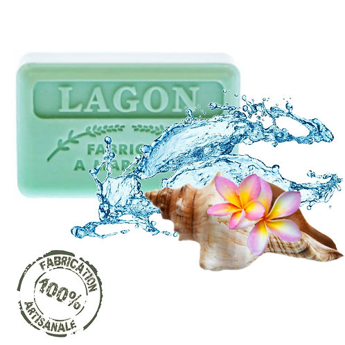 Frenchsoaps Lagoon Soap Front View