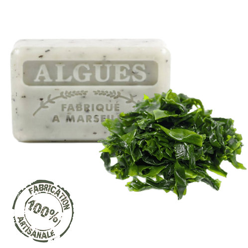 Frenchsoaps Seaweed Exfoliating Soap Front View