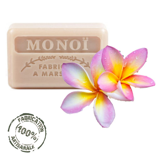 Frenchsoaps Monoi Soap Front View