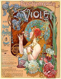 vintage french soaps advert