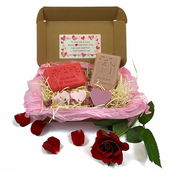 French Soap Valentines Gift Front View.j
