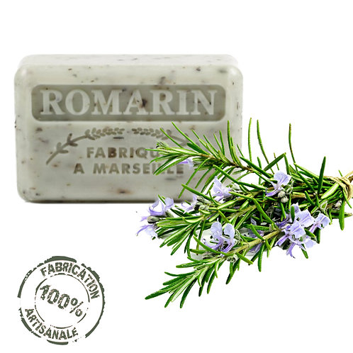Frenchsoaps Rosemary Exfoliating Soap Front View